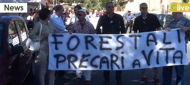 Forestali: martedì 7 gennaio le Madonie a Palermo per manifestare contro la finanziaria del governo Crocetta