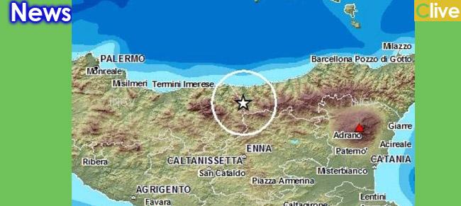 Scossa di terremoto nelle Madonie. Castelbuono trai i comuni a 20 Km dall'epicentro