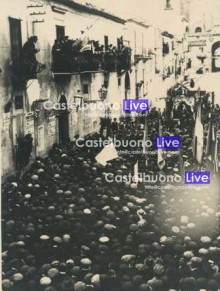 18 aprile 1924. Cucco sul carro trionfale davanti al vecchio Municipio (foto Silvestre Zito)