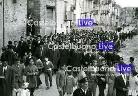 L'arrivo di Vincenzo Carollo a Castelbuono dopo la sua prima nomina ad assessore regionale