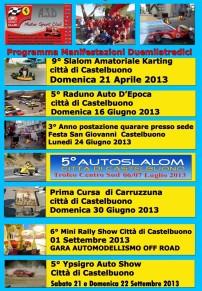 9° Slalom Amatoriale Karting Città di Castelbuono - Memorial Mimmo Colantoni