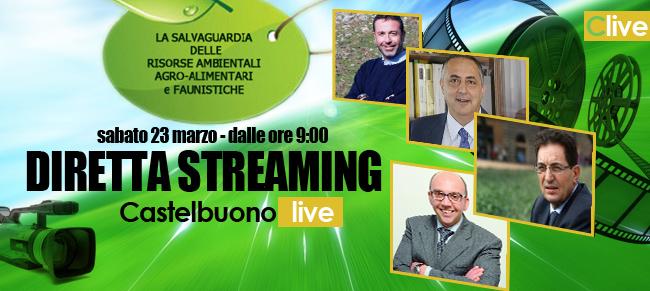Diretta Streaming su Castelbuono Live del convegno sulla salvaguardia delle risorse ambientali agro-alimentari e faunistiche