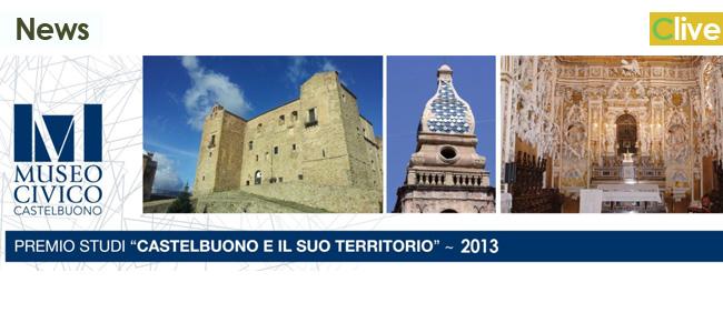 """Il Museo Civico bandisce il Premio Studi """"Castelbuono e il suo Territorio"""" edizione 2013"""