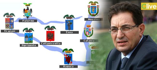 """L'annuncio di Crocetta:  """"Domani aboliremo le Province"""""""
