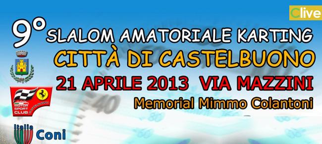 9° Slalom Amatoriale Karting città di Castelbuono - Memorial Mimmo Colantoni.