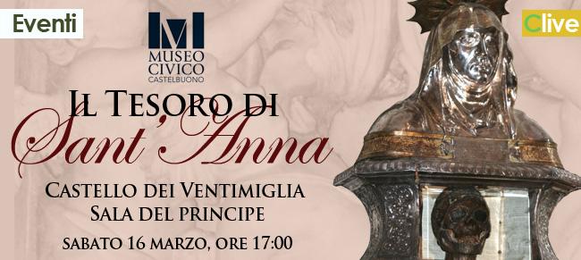 """Al Museo Civico il """"Tesoro di Sant'Anna"""""""