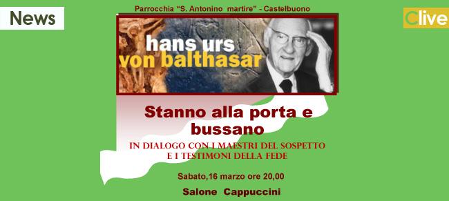 Il 16 marzo presso il salone dei Cappuccini continua il dialogo con i mendicanti dell'Assoluto