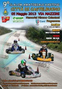 Rinviato il 9° Slalom Amatoriale Karting città di Castelbuono