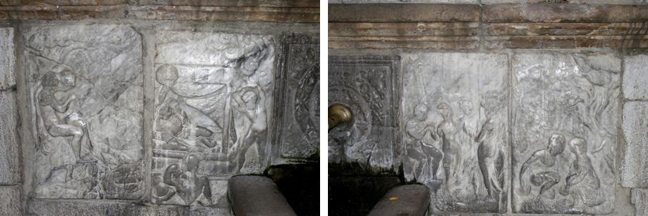 Foto 15 - Le metope dopo il restauro Foto Mazzola)