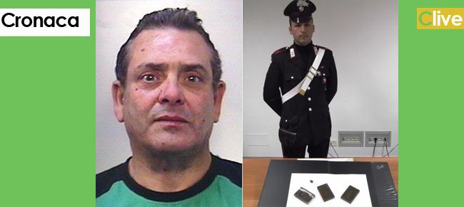 Castellana Sicula, arrestato con 3 etti di hashish