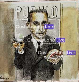 Foto 8 - Vincenzo Pupillo, disegno di Bruno Caruso (1997)
