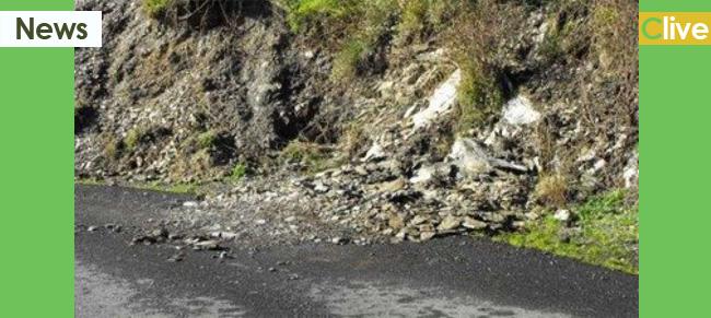 Maltempo Palermo: frane a Cefalù, traffico interrotto sulla SP 52