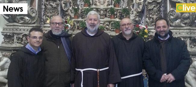Fra Felice Cangelosi e fra Teodoro Di Bella, eletti rispettivamente ministro e vicario dell'ordine dei frati minori cappuccini, provincia di Messina