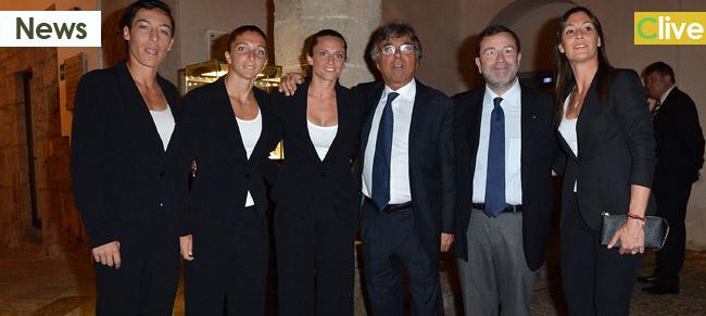 FED CUP 2013, PRANZO DI GALA CON I PRODOTTI DELLE MADONIE