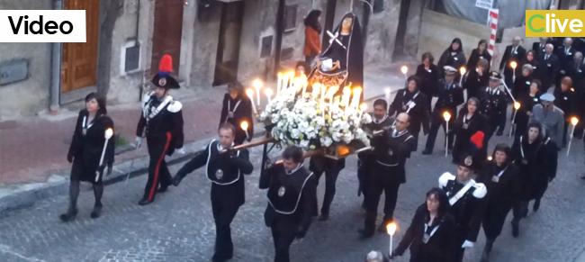 Dosponibile il video della processione del Venerdì Santo
