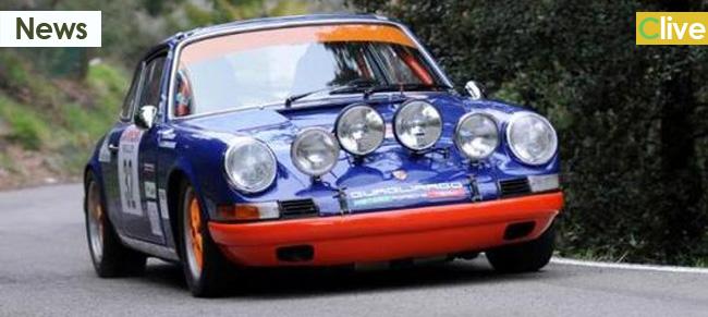 Il cefaludese Livecchi sulla Porsche sponsorizzata dal Parco delle Madonie vince al rally di Sanremo