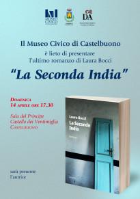 """Domenica 14 aprile la presentazione libro """"La seconda India"""""""