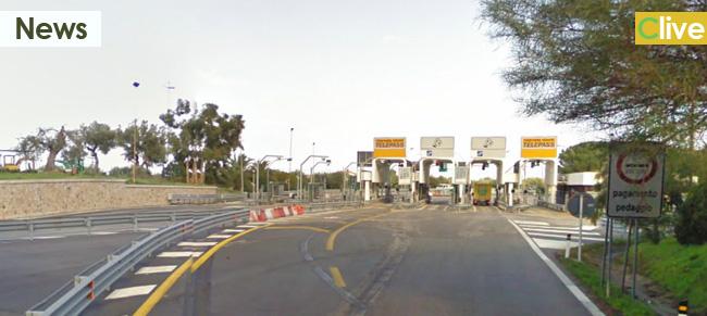 Autostrada Messina Palermo. Chiusura svincolo Cefalù