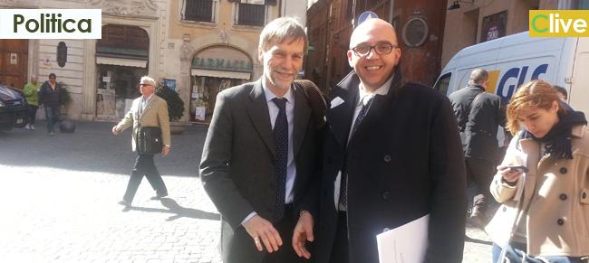 Il sindaco Tumminello incontra il sindaco di Reggio Emilia e lo ringrazia per l'omaggio riservato al castelbuonese e patriota Cristoforo Carabillò