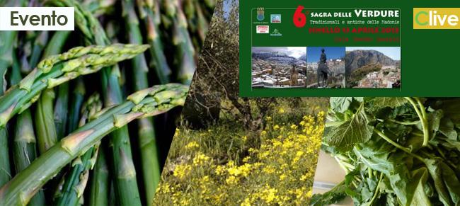 Sabato 13 aprile Sesta Sagra delle verdure selvatiche