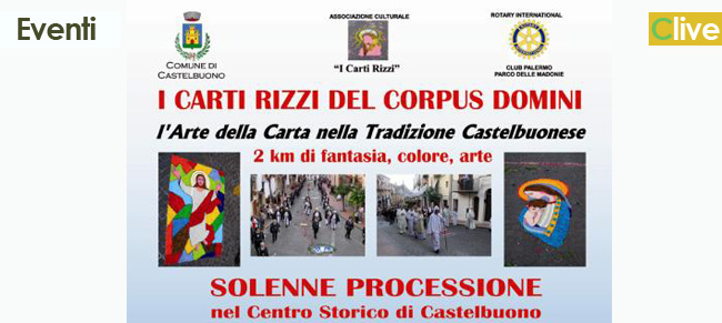 """I """"Carti Rizzi"""" del Corpus Domini"""