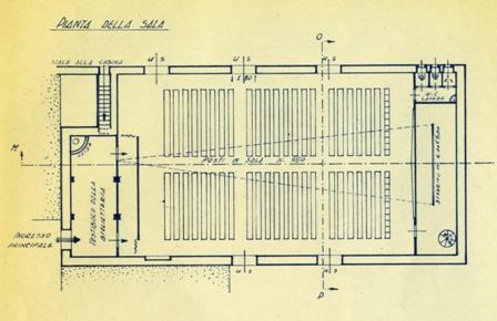 foto 2 pianta delle Fontanelle nel primo progetto di restauro