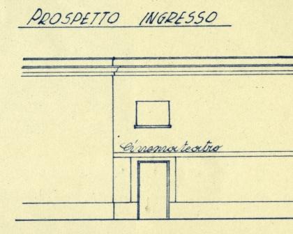 foto 4 prospetto principale delle Fontanelle nel primo progetto di restauro