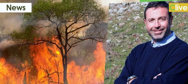 Incendi in zona Parco: dura condanna del Presidente Angelo Pizzuto