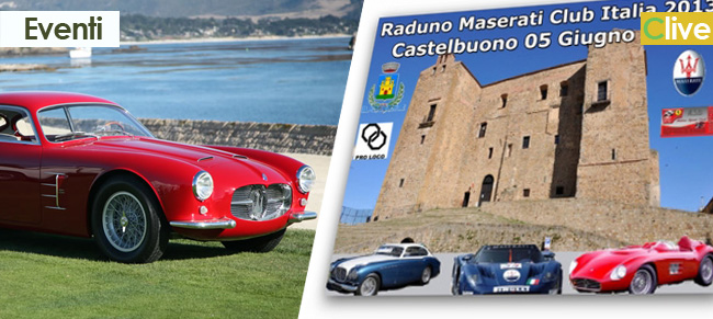Raduno Maserati a Castelbuono
