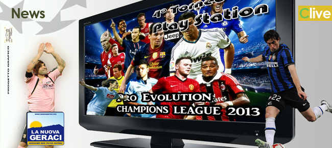 IV Torneo di Play Station Geraci Siculo Champions League.  Riparte l'avventura.