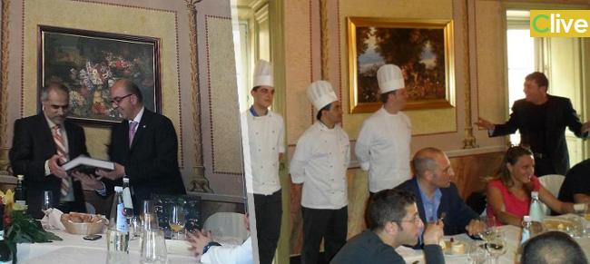 La visita dello sceicco a Castelbuono e il pranzo al Palazzaccio