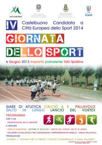 Il 6 giugno 2013 la IV Giornata dello Sport
