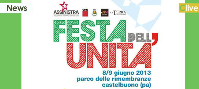 """8 e 9 giugno la """"Festa dell'Unità"""" al Parco delle Rimembranze"""