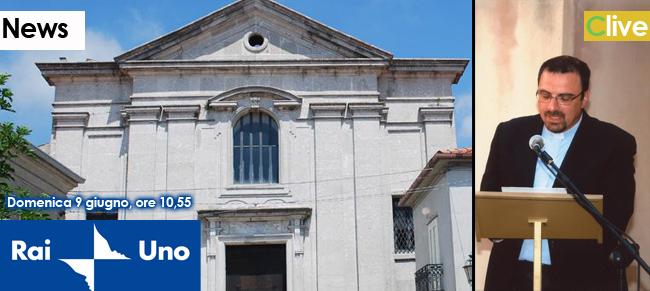 Domenica 9 giugno, il sacerdote castelbuonese don Pietro Bonomo,  celebrerà la S. Messa in diretta su Rai Uno