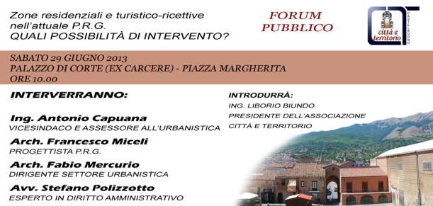 Zone residenziali e turistico-ricettive nell'attuale P.R.G. - QUALI POSSIBILITA' DI INTERVENTO?