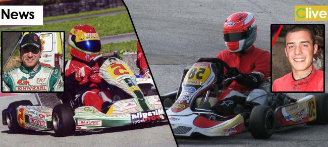 Francesco Alaimo e Vincenzo Campo  campioni regionali di kart rispettivamente per la 125 e la 100cc
