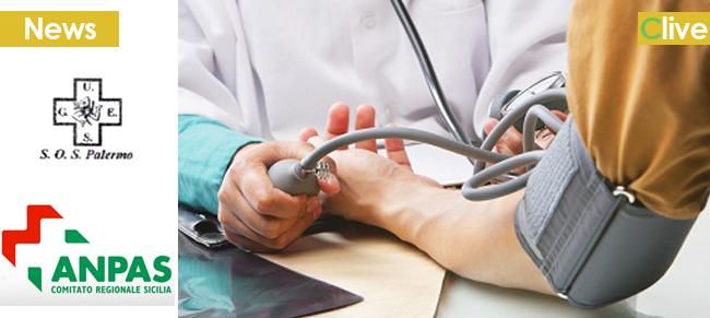Controllo glicemia e valori di pressione - I Giovani Volontari della U.G.E.S. S.O.S. Sez. Castelbuono per la prevenzione sanitaria