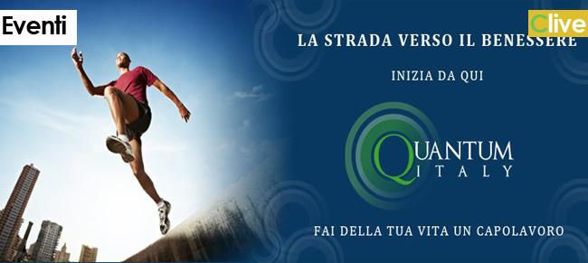 """16 giugno, Meeting Quantum Italy """"Prepariamoci al Benessere"""""""