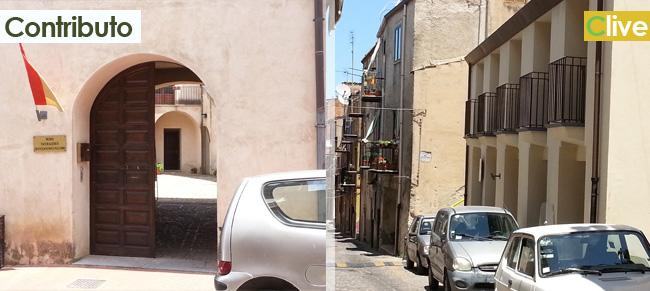 Al Municipio si ammaina la bandiera italiana e alla Badia si alza la bandiera dei Ventimiglia