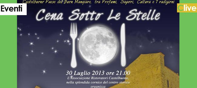 """Una tavolata da guiness da Piazza Castello a Piazza Margherita con la """"Cena sotto le stelle"""""""