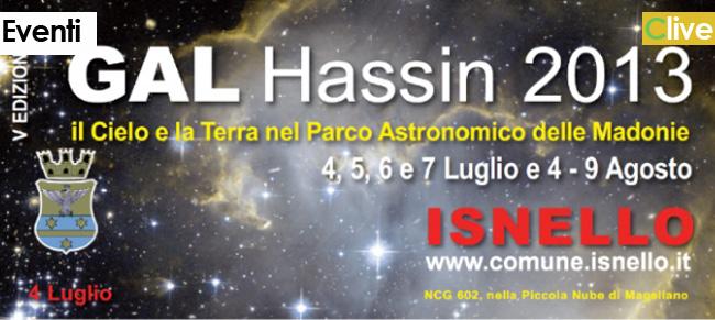 Convegno GAL Hassin, a Isnello nomi prestigiosi dell'astronomia nazionale e internazionale.