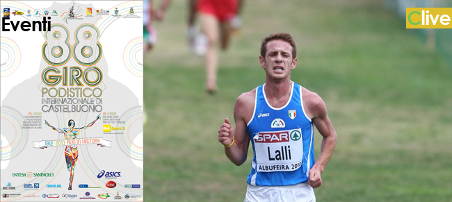 Andrea Lalli all' 88° Giro Podistico Internazionale di Castelbuono