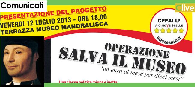 """M5S Cefalù: """"Operazione Salviamo il Museo"""""""