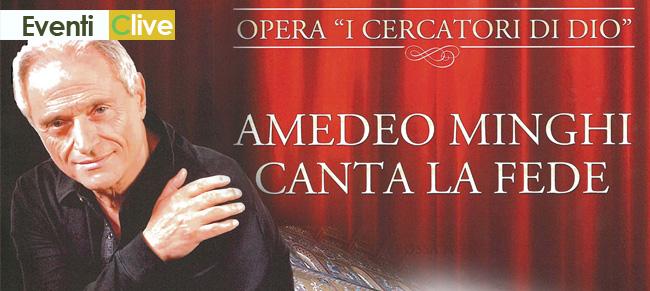 Il 26 luglio in Piazza Castello Amedeo Minghi canta la Fede