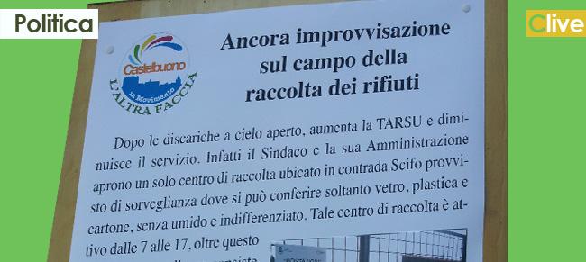 Castelbuono in Movimento - L'Altra Faccia: ancora improvvisazione sul campo della raccolta dei rifiuti