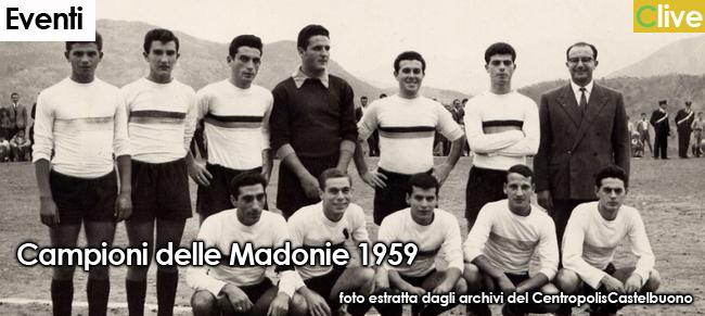"""Presentazione del libro """"Torneo delle Madonie: un calcio d'altri tempi 1950-1983"""". La Castelbuonese nell'albo d'oro del 1958 e del 1959"""