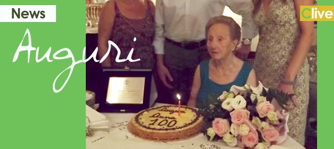 Camogli festeggia i cento anni della castelbuonese Giuseppina Gugliuzza