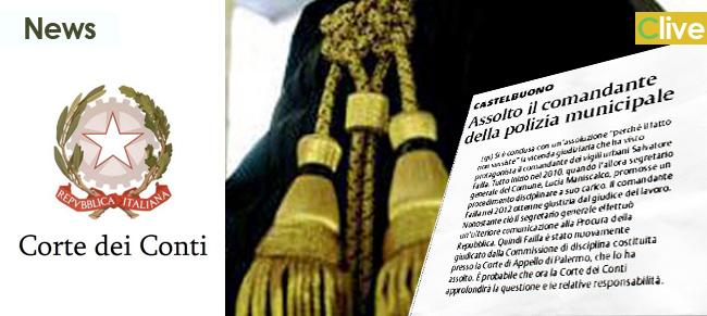 Assolto il comandante della polizia municipale: probabile approfondimento della Corte dei Conti