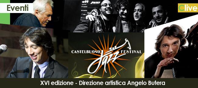 XVI edizione del Castelbuono Jazz Festival 2013. All'interno il programma completo