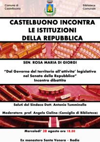 Castelbuono incontra le istituzioni della Repubblica